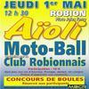 Aïoli du Motoball Club Robionnais le Jeudi 1e Mai .