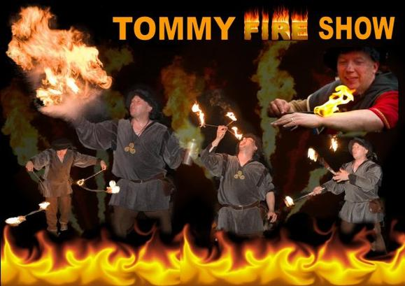 Tommy fire show