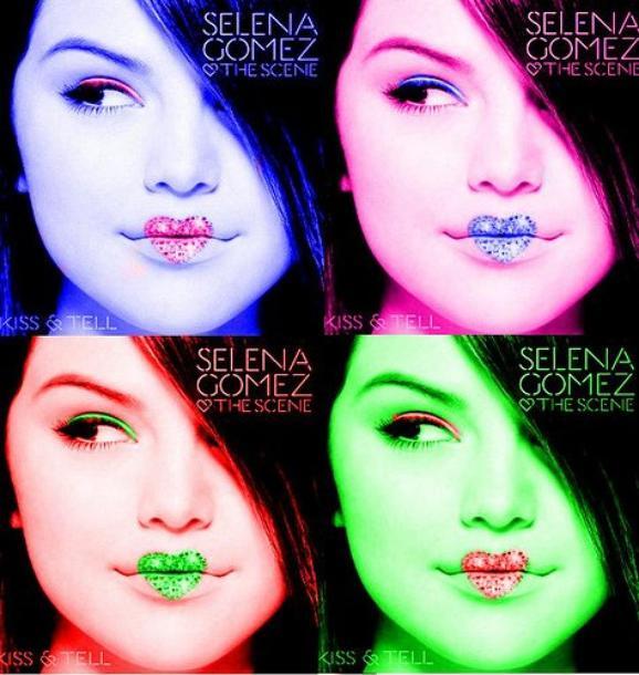 """Voilà un montage de l'album """"Kiss & Tell"""" de Selena Gomez que j'ai trouvée sur Internet. Comment vous trouvez ?"""