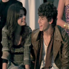 Nick Jonas et Selena (L)
