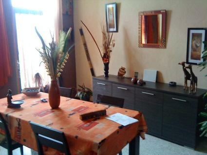 ma salle a manger style africain moi et moi lol. Black Bedroom Furniture Sets. Home Design Ideas