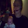En ligne skype avec mami
