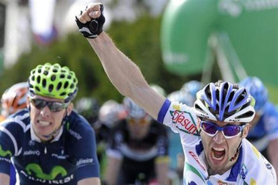 Ruta Del Sol 2013 (1ere étape) : Victoire du français Jonathan Hivert...