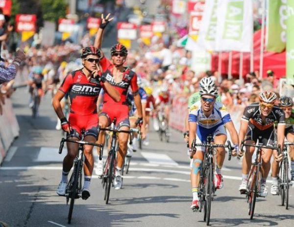 Tour de Wallonie 2013 (3eme étape Beaufays / Bastogne) : Greg Van Avermaet s'impose