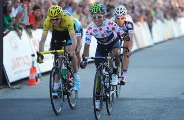 Critérium de Ninove 2013 : Nairo Quintana vainqueur devant Christopher Froome...