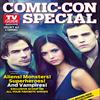 Ian, Nina et Paul en couverture d'un numéro spécial Comic-Con par TV Guide Magazine.