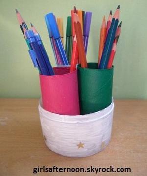 DIY: Un pot à crayons original