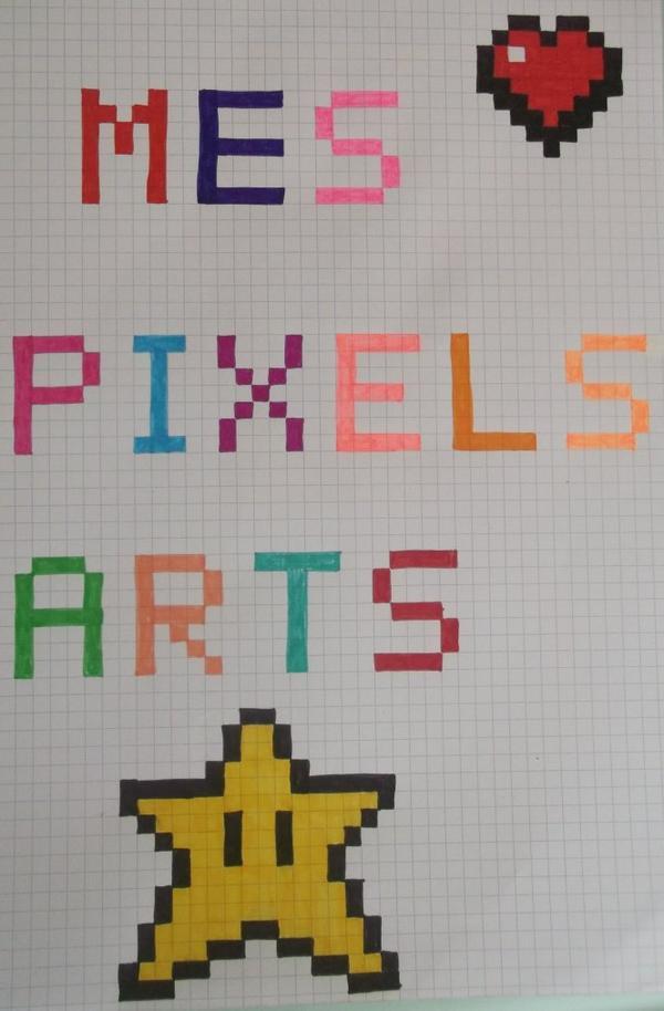 Pixel Art Sans Noir Facile