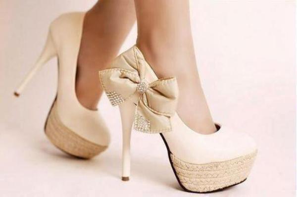 Chaussure A Talon Haut Confortable