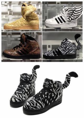 Adidas Jeremy Scott Js Zebra