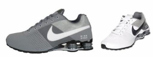 nike shox deliver running grey black silver online