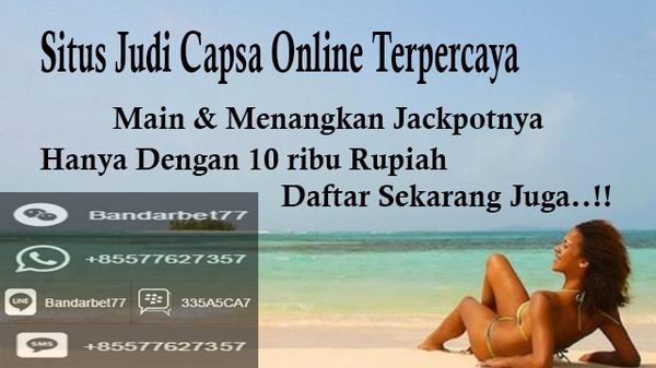 Situs Judi Capsa Online Terpercaya Deposit Bank BRI