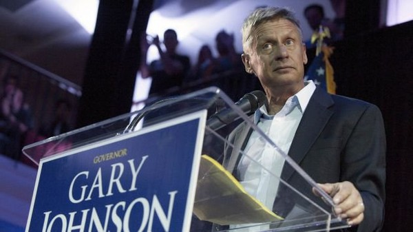 Gary Johnson Opposed to Net Neutrality