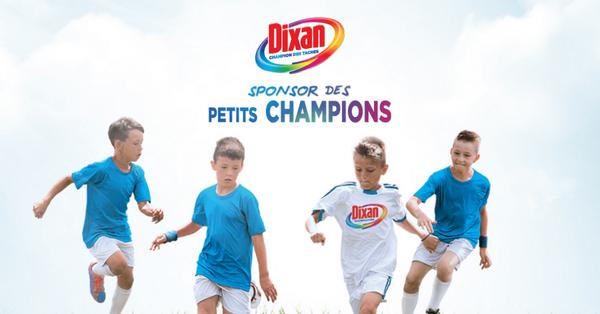 Dixan | Sponsor des petits champions