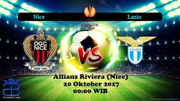 Prediksi Nice VS Lazio 20 Oktober 2017 | Prediksiskorbolajitu |