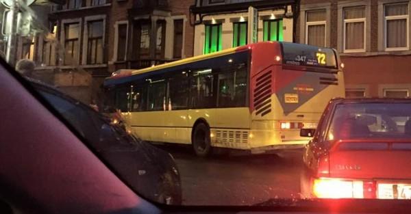 Liège: un piéton renversé par un bus TEC près de l'hôpital de la Citadelle