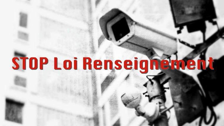 Retirez le #PJLRenseignement, le Big Brother français #StopLoiRenseignement