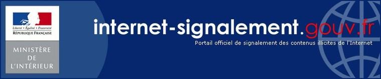 internet-signalement.gouv.fr - Portail officiel de signalements de contenus illicites - Accueil