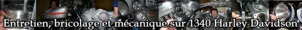 Entretien et mécanique sur Harley Davidson