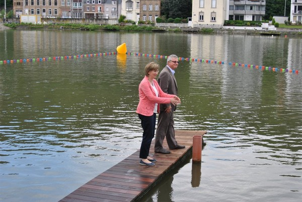 Namur plage : sport ou détente, il y en aura pour tous
