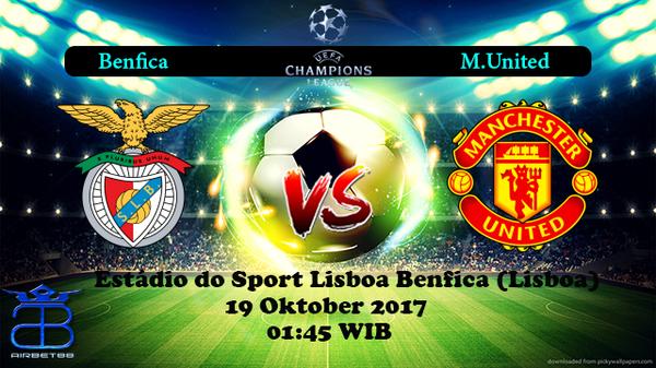 Prediksi Benfica VS M.United 19 Oktober 2017 | Prediksiskorbolajitu |