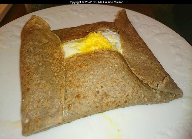 GALETTE BRETONNE AU SARRASIN - Ma Cuisine Maison
