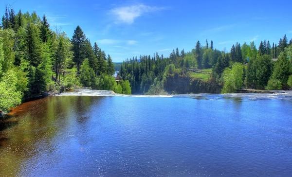 Heading Towards the Falls at Kakabeka Falls, Ontario, Canada, #1 « Nice Place To Visit