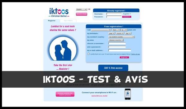 Iktoos - Test & Avis sur le site de rencontre chretienne