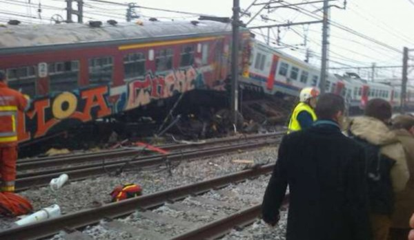 Grave accident de train en Belgique - Paris Match