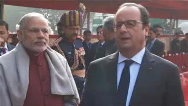 "Vidéo de Daesh : ""Aucune menace ne fera douter la France"" (Hollande)"