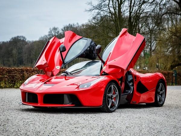 A strikingly classy Ferrari La Ferrari for sale in Netherlands