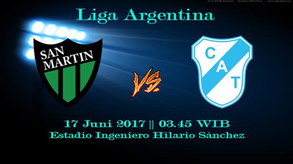 Prediksi San Martin vs Temperley 15 Juni 2017