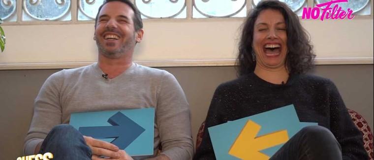 Qui est le plus dissipé ? Qui chante le mieux ? Jérémy Banster et Maëlle Mietton (Un si grand soleil), très dissipés dans l'interview Guess Who (VIDEO)