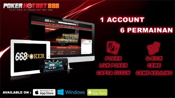 Agen Poker Terpercaya Indonesia Pokerhotbet888