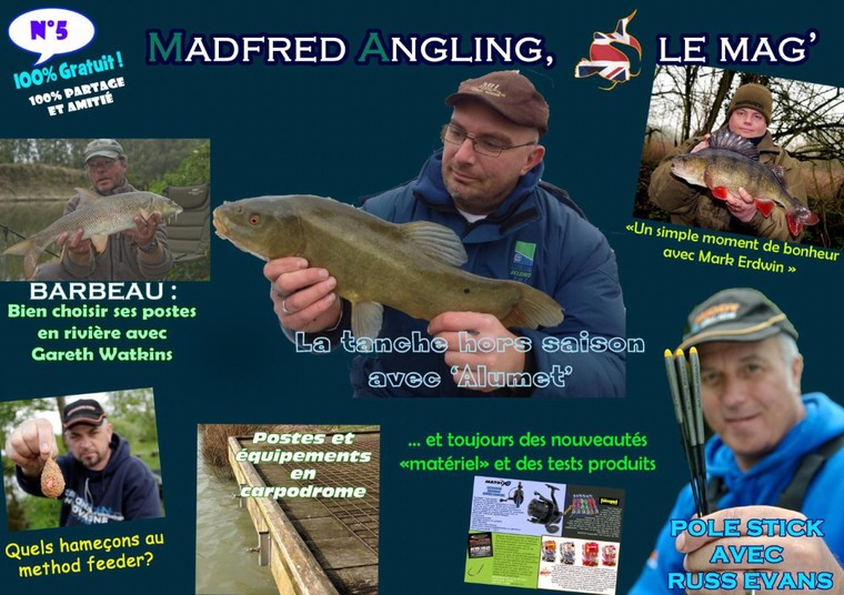 Madfred Angling le Mag' 5