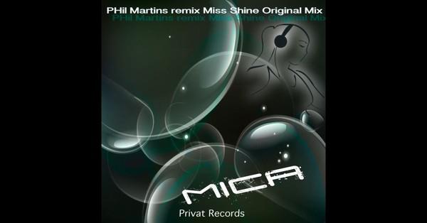 Écoutez les morceaux de l'album Mica (Phil Martins Remix) - Single, notamment «Mica (Phil Martins Remix)». Acheter l'album pour CHF1.90. Morceaux à partir de CHF1.90. Gratuit avec u...