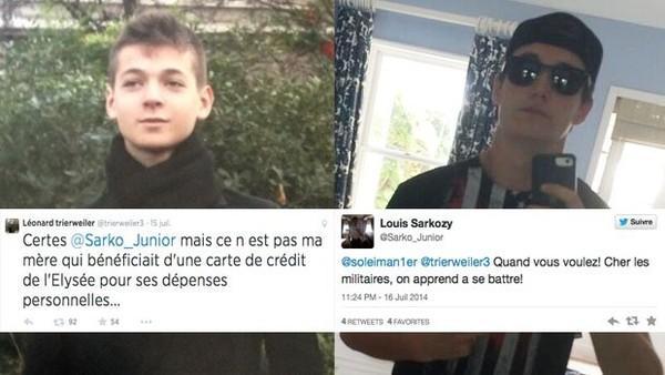 Le Tweet Clash Louis Sarkozy VS Léonard Trierweiler : On en parle ? - YZGeneration