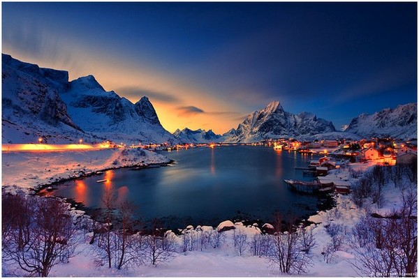 Pretty one-of-a-kind reine in lofoten - NICE PLACE TO VISIT