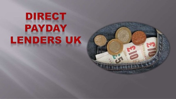 Why Should you Borrow A Payday Loan From Direct Payday Lenders!