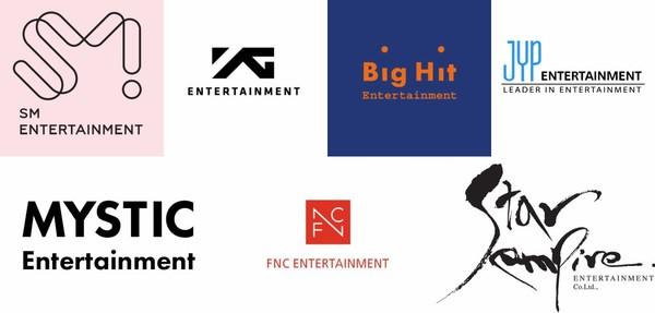 BigHit, SM, JYP, YG, FNC, Mystic et Star Empire joignent leurs forces pour créer une nouvelle plateforme musicale