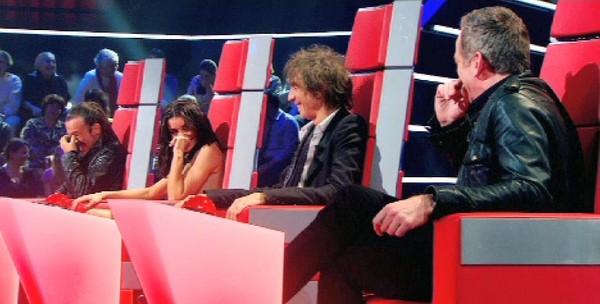 The Voice 2 : la plus belle voix - The Voice 1 : Nikos et les quatre coachs pris d'un énorme fou rire