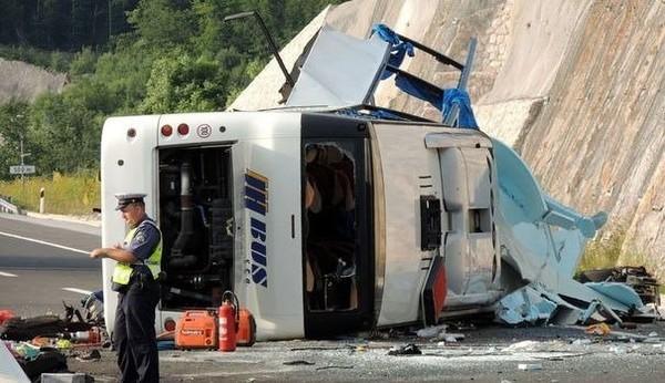 Croatie: un avion affrété pour rapatrier les blessés dans l'accident de car tchèque - LExpress.fr