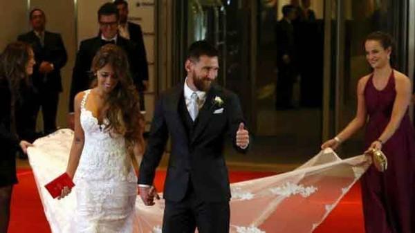 អាពាហ៍ពិពាហ៍ដ៏អស្ចារ្យដែលមិនធ្លាប់ឃើញរបស់ តារាបាល់ទាត់ដ៏ល្បី Lionel Messi