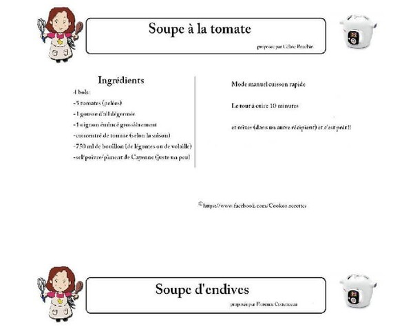 Livres recettes cookeo imprimer pdf recettes cook o blog de didie13500 - Recette de noel au cookeo ...