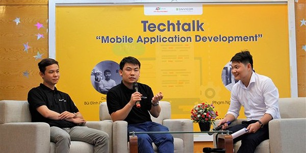 Savvycom in Techtalk- Mobile Application Development - Savvycom