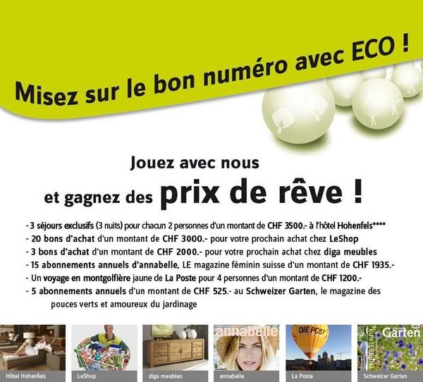 Concours Assortiment ECO ECO Boutique en ligne - Achetez chez Ackermann VPC