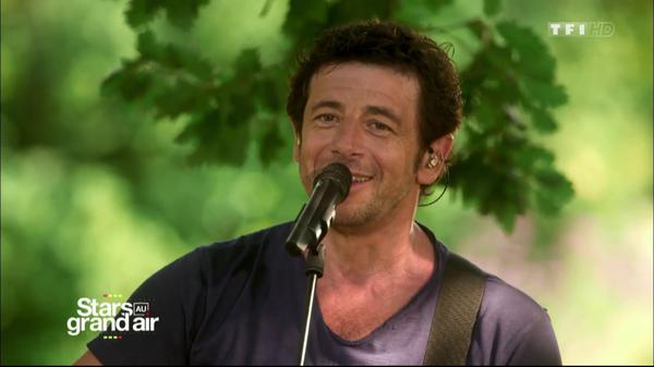 Stars au grand air - Patrick Bruel interprète Ma philosophie (Amel Bent)