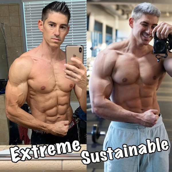"""Chris Elkins 🐼 on Instagram: """"What do you like - Extreme or Sustainable? I love being shredded, don't get me wrong, but I think my face says everything you need to know…"""""""