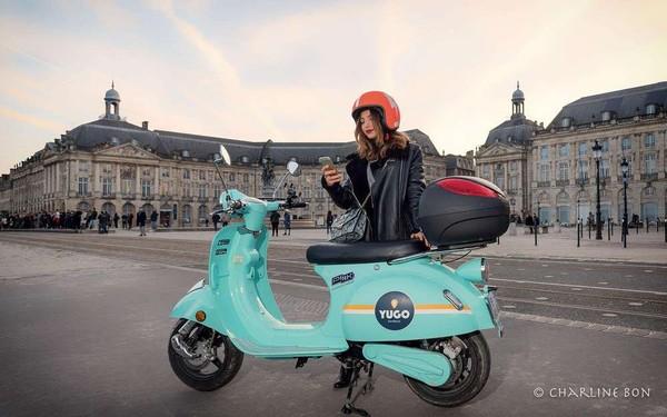 Les scooters électriques en libre service débarquent à Bordeaux