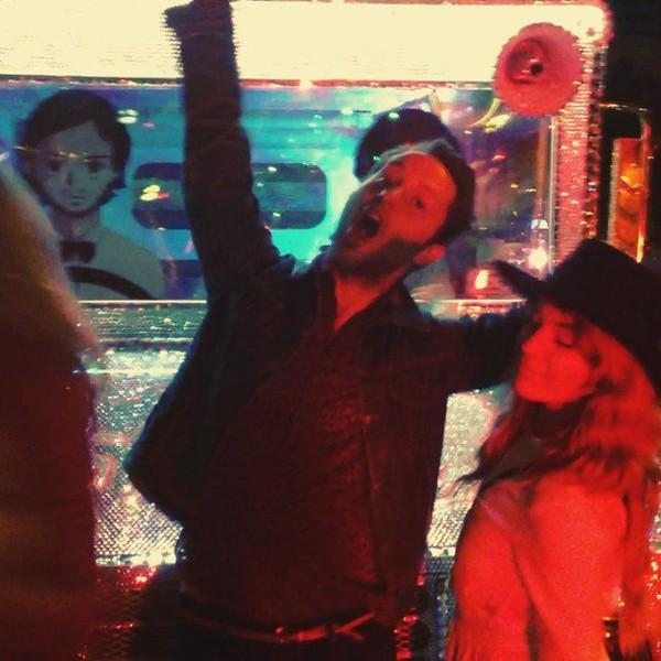 .@jessicaalba | #nyfw #randomnight #heartsrevolution w starring @derekblasberg @lauren_anders...
